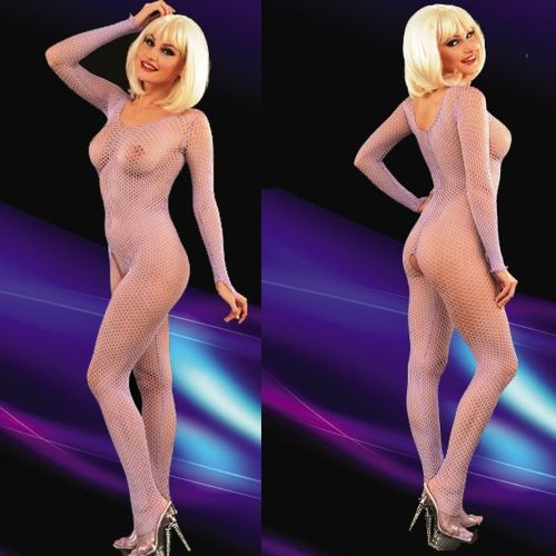 La Blinque Lila File Kumaş Kadın Vücut Çorabı