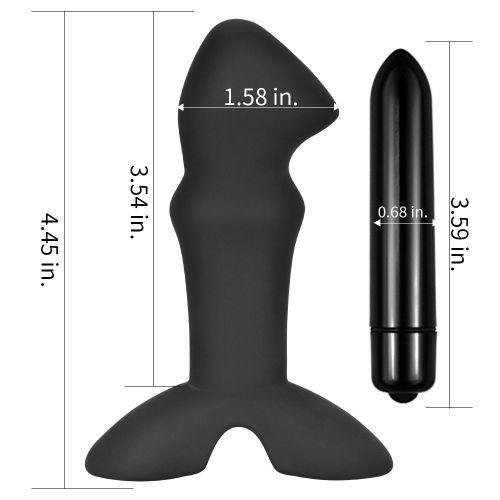 Lovetoy Silicone Prostate Stud Anal Prostat Vibratör Kayganlaştırıcı Jel