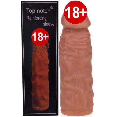 Top Notch Reinforcing Realistik Penis Kılıfı